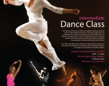 ACE dance and music // Classes poster